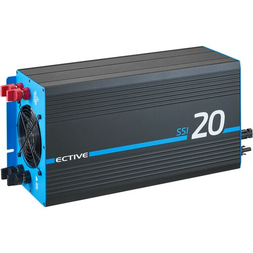 ECTIVE SSI 20 (SSI202) 12V 4in1 Sinus-Inverter 2000W/12V...