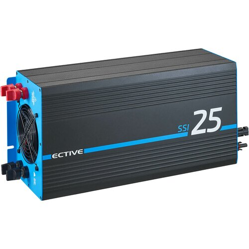 ECTIVE SSI 25 (SSI252) 12V 4in1 Sinus-Inverter 2500W/12V...