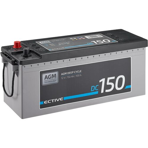 ECTIVE DC 150 AGM Deep Cycle 150Ah Versorgungsbatterie