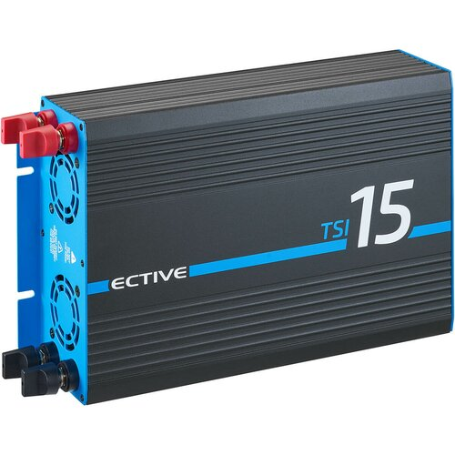 ECTIVE TSI15 (TSI152) 12V Sinus-Inverter 1500W/12V...