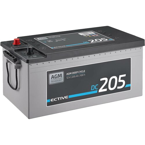 ECTIVE DC 205 AGM Deep Cycle 205Ah Versorgungsbatterie