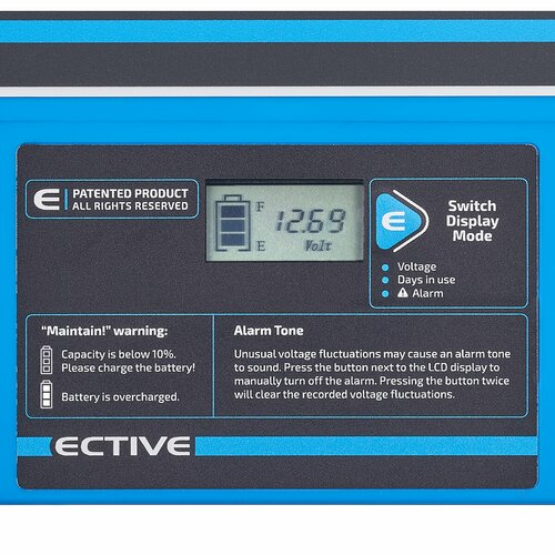 ECTIVE DC 115S AGM Deep Cycle mit LCD-Anzeige115Ah Versorgungsbatterie