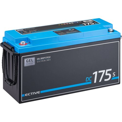 ECTIVE DC 175S GEL Deep Cycle mit LCD-Anzeige 175Ah...